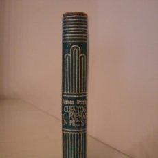 Libros antiguos: RUBÉN DARÍO. AZUL. CUENTOS. POEMAS EN PROSA. AGUILAR. CRISOL 115.. Lote 128390539