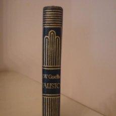 Libros antiguos: J.W.GOETHE. FAUSTO. AGUILAR. CRISOL 11.. Lote 128390755