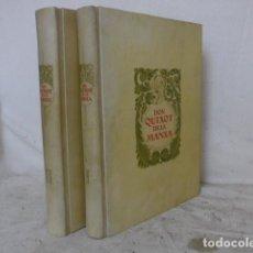 Libros antiguos: 2 VOLUMENES LIBRO EN CATALAN DON QUIXOT DE LA MANCHA, 1936, ORIGINAL. QUIJOTE. Nº 93/560. Lote 128391499