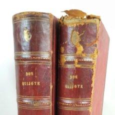 Libros antiguos: EL INGENIOSO HIDALGO. DON QUIJOTE DE LA MANCHA. 2 TOMOS. MONTANER Y SIMÓN.1880/1883.. Lote 128410103
