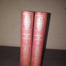 Libros antiguos: LOS MISERABLES, VICTOR HUGO. Lote 128614163