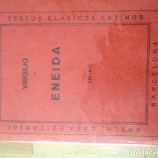 Libros antiguos: ENEIDA VIRGILIO LIBRO II. Lote 129133795