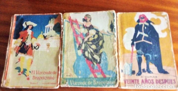 ALEJANDRO DUMAS: 3 NOVELAS AÑO 1.919 COLECCIÓN MADRID (SATURNINO CALLEJA) (Libros antiguos (hasta 1936), raros y curiosos - Literatura - Narrativa - Clásicos)