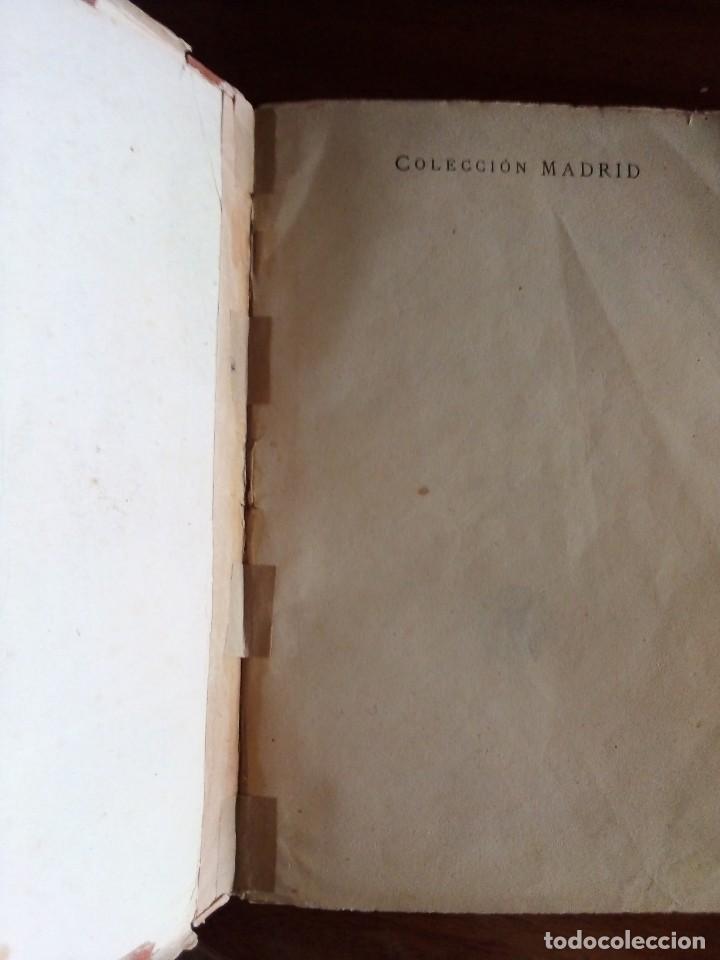 Libros antiguos: Alejandro Dumas: 3 novelas año 1.919 Colección MADRID (Saturnino Calleja) - Foto 3 - 129973219