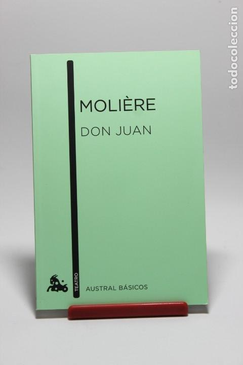DON JUAN - MOLIERE (Libros antiguos (hasta 1936), raros y curiosos - Literatura - Narrativa - Clásicos)