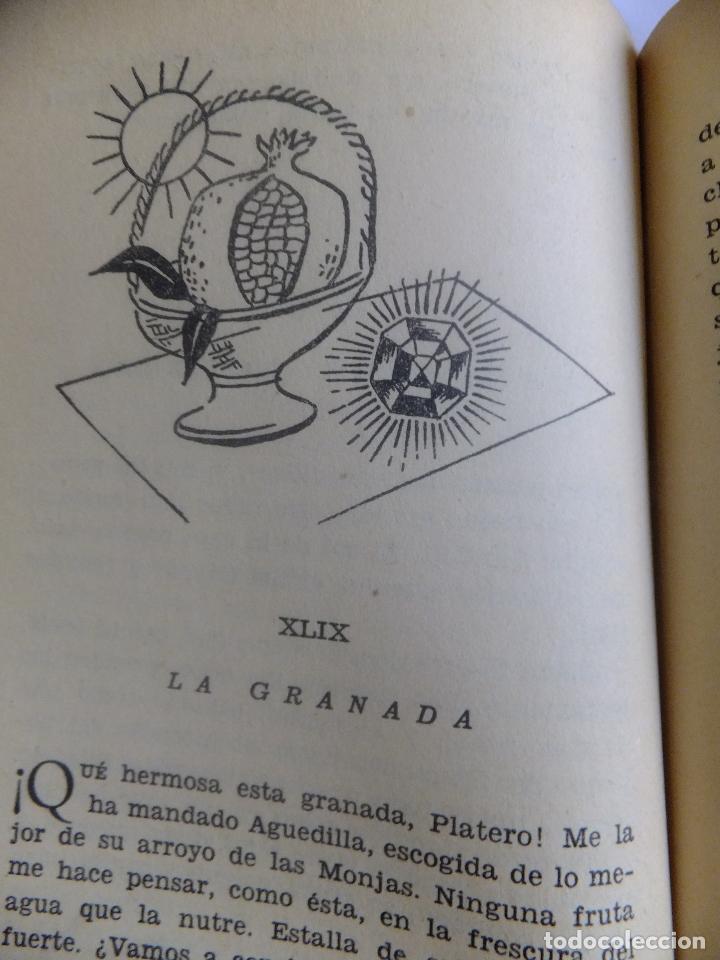 Libros antiguos: Juan Ramón Jimenez Platero y Yo ed, Losada Buenos Aires .Ilustracion Attilio Rossi - Foto 7 - 130454114