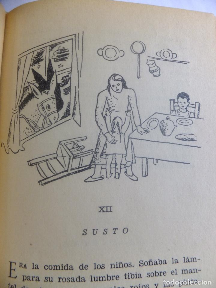 Libros antiguos: Juan Ramón Jimenez Platero y Yo ed, Losada Buenos Aires .Ilustracion Attilio Rossi - Foto 8 - 130454114