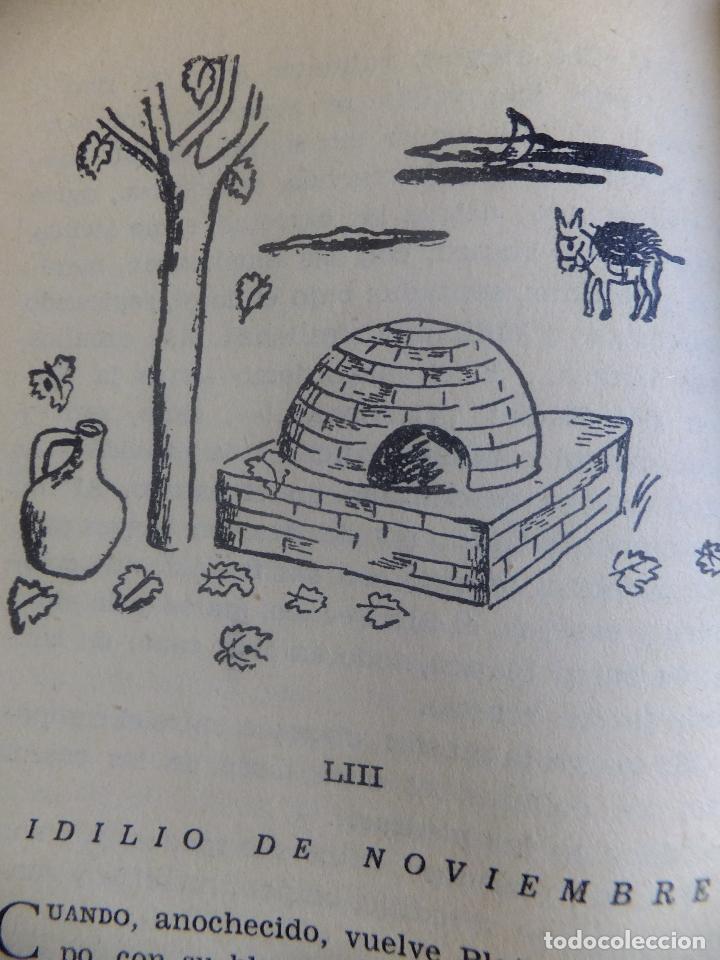 Libros antiguos: Juan Ramón Jimenez Platero y Yo ed, Losada Buenos Aires .Ilustracion Attilio Rossi - Foto 10 - 130454114