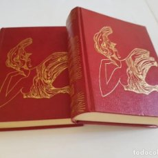 Libros antiguos: 'EL INGENIOSO HIDALGO DON QUIJOTE DE LA MANCHA', MIGUEL DE CERVANTES, EDITORIAL ZEUS,1971, 2 TOMOS. Lote 130706434