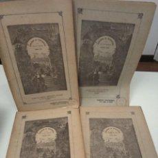 Libros antiguos: KERABAN EL TESTARUDO JULIO VERNE SAENZ DE JUBERA EDITORES CIRCA 1890 GRABADOS COMPLETO 4 CUADERNOS. Lote 131012656