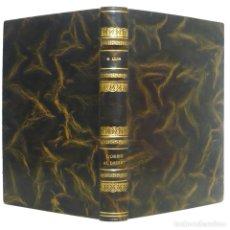 Libros antiguos: 1934 - 1ª ED. - MIQUEL LLOR: L'OREIG AL DESERT - ENCUADERNACIÓN DE LUJO FIRMADA ARGOS - PLENA PIEL . Lote 131099212