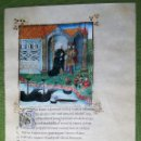 Libros antiguos: LAMINA FACSIMIL DE LA ENEIDA DE VIRGILIO V2. Lote 131589622
