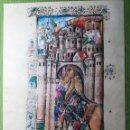 Libros antiguos: LAMINA FACSIMIL DE LA ENEIDA DE VIRGILIO V4. Lote 131589862
