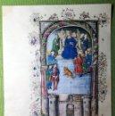 Libros antiguos: LAMINA FACSIMIL DE LA ENEIDA DE VIRGILIO V5. Lote 131590038