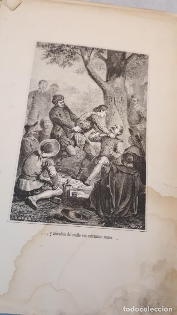 Libros antiguos: El Quijote. Edición 1863. - Foto 5 - 131787754