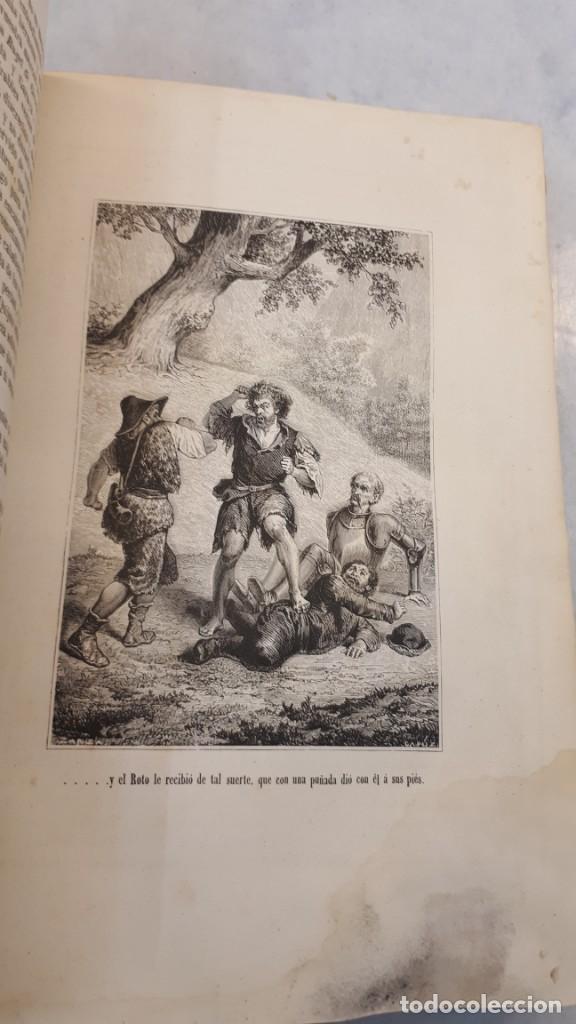 Libros antiguos: El Quijote. Edición 1863. - Foto 8 - 131787754