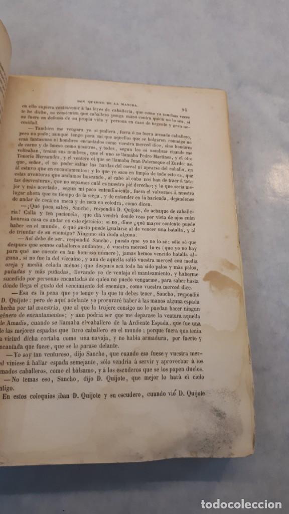 Libros antiguos: El Quijote. Edición 1863. - Foto 9 - 131787754
