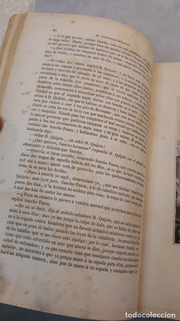 Libros antiguos: El Quijote. Edición 1863. - Foto 11 - 131787754
