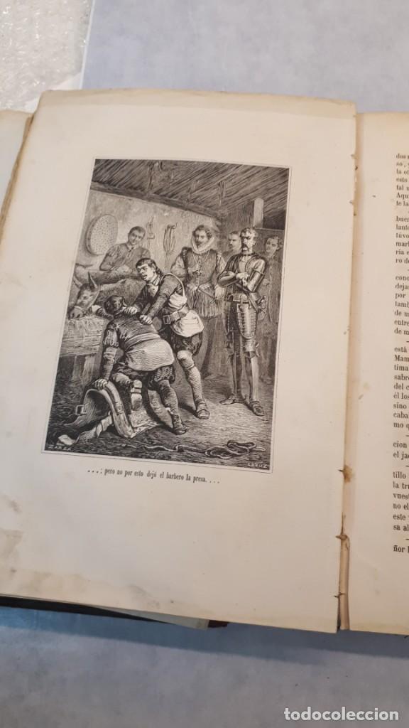 Libros antiguos: El Quijote. Edición 1863. - Foto 12 - 131787754