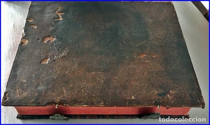 Libros antiguos: AÑO 1756: OBRAS DE SANTA TERESA DE JESÚS. LIBRO DEL SIGLO XVIII CON CIERRE METÁLICO. 21,50 CM. - Foto 6 - 132083394