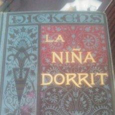 Libros antiguos: LA NIÑA DORRIT .DE CARLOS DICKENS. BIBLIOTECA ARTE Y LETRAS 1885 TOMO 2 PRIMERA EDICIÓN. Lote 132096771