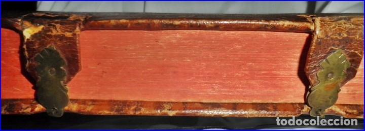 Libros antiguos: AÑO 1756: OBRAS DE SANTA TERESA DE JESÚS. LIBRO DEL SIGLO XVIII CON CIERRE METÁLICO. 21,50 CM. - Foto 10 - 132083394