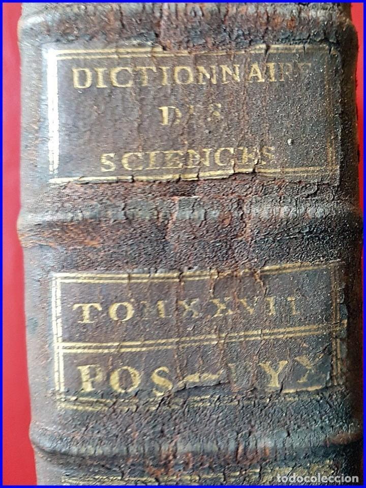 Libros antiguos: AÑO 1779: LA ENCICLOPEDIA DE DIDEROT. SIGLO XVIII. 26CM. Y CASI 1000 PÁGINAS - Foto 2 - 161627402