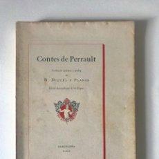 Old books - Contes de Perrault. Paper fil numerat. Trad. Miquel y Planas. Gravats de Alexandre de Riquer. 1911. - 132459954