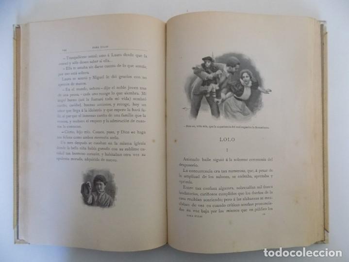 Libros antiguos: LIBRERIA GHOTICA. LUJOSA EDICIÓN MONTANER Y SIMON. PARA ELLAS.1896. GRABADOS. - Foto 5 - 231681320