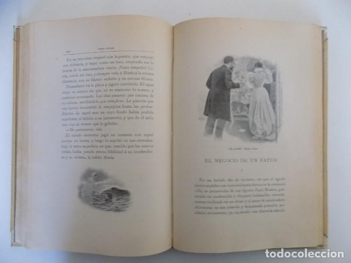 Libros antiguos: LIBRERIA GHOTICA. LUJOSA EDICIÓN MONTANER Y SIMON. PARA ELLAS.1896. GRABADOS. - Foto 6 - 231681320