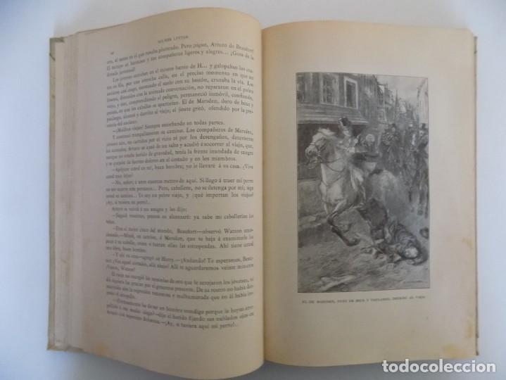 Libros antiguos: LIBRERIA GHOTICA.LUJOSA EDICIÓN MONTANER Y SIMON. LUZ Y SOMBRAS. 1907. GRABADOS. - Foto 4 - 231681310