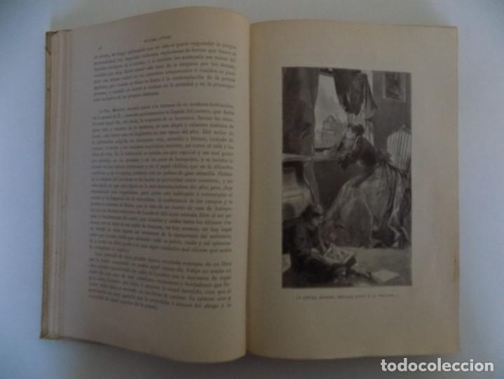Libros antiguos: LIBRERIA GHOTICA.LUJOSA EDICIÓN MONTANER Y SIMON. LUZ Y SOMBRAS. 1907. GRABADOS. - Foto 6 - 231681310