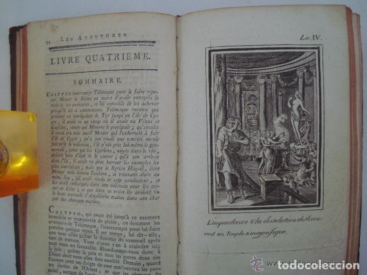 Libros antiguos: FENELON. LES AVENTURES DE TELÉMAQUE. FILS D ´ULYSSE. 1806. ILUSTRADO CON GRABADOS - Foto 5 - 133011570