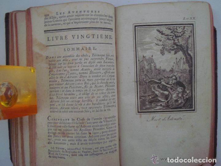 Libros antiguos: FENELON. LES AVENTURES DE TELÉMAQUE. FILS D ´ULYSSE. 1806. ILUSTRADO CON GRABADOS - Foto 8 - 133011570