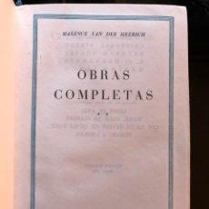 Libros antiguos: MAXENCE VAN DER MEERSCH OBRAS COMPLETAS TOMO II PLAZA Y JANÉS 1974. Lote 133017862