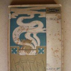 Old books - EL GRILLO DEL HOGAR. C. DICKENS. 1902 - 133039894