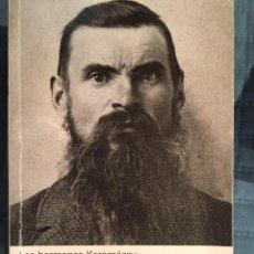 Livros antigos: LOS HERMANOS KARAMAZOV. Lote 133063738