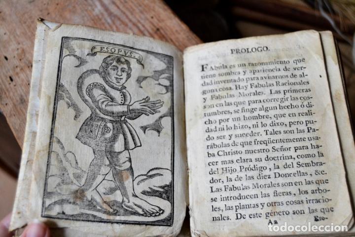 Libros antiguos: BARCELONA 1815 * S. XIX * FABULAS DE ESOPO FILOSOFO MORAL Y DE OTROS AUTORES * GRABADOS ENTRE TEXTO - Foto 3 - 133248962