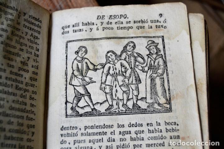 Libros antiguos: BARCELONA 1815 * S. XIX * FABULAS DE ESOPO FILOSOFO MORAL Y DE OTROS AUTORES * GRABADOS ENTRE TEXTO - Foto 5 - 133248962