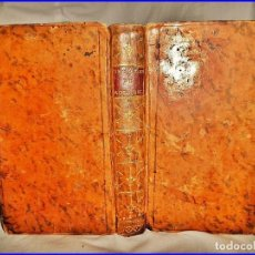 Libros antiguos: AÑO 1766: OBRAS DE ROUSSEAU. LIBRO DEL SIGLO XVIII.. Lote 133259850