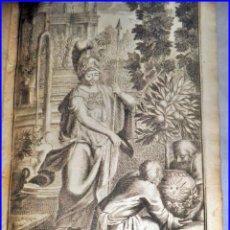 Libros antiguos: AÑO 1701: HERMOSO LIBRO DEL SIGLO XVIII CON PRECIOSOS GRABADOS. 317 AÑOS DE ANTIGÜEDAD.. Lote 133345394