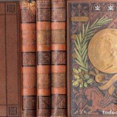 Libros antiguos: SCHILLER : DRAMAS - TRES TOMOS (ARTE Y LETRAS MAUCCI, 1909). Lote 133986835