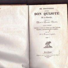 Libros antiguos: DON QUJOTE DE LA MANCHA EDICION DE 1852. Lote 134443258