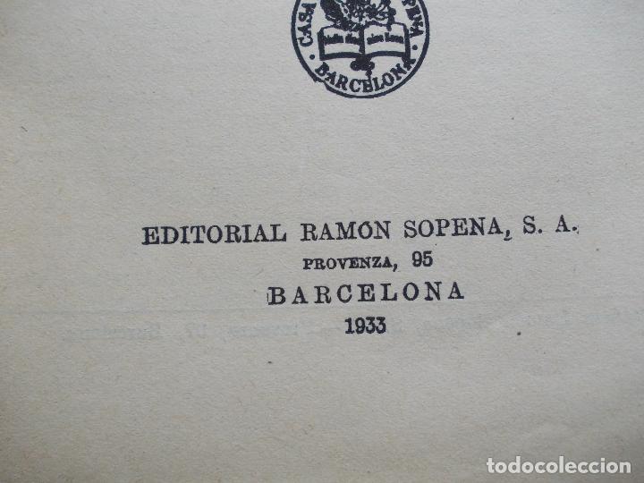 Libros antiguos: Veinte mil leguas de viaje submarino Julio Verne 1.933 Editorial Sopena - Foto 2 - 134937474