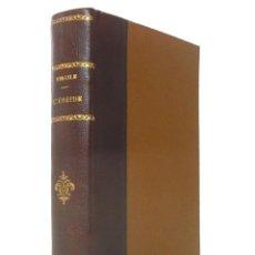 Libros antiguos: 1910 - VIRGILE: L'ENEIDE - LA ENEIDA DE VIRGLIO - ANTIGUA EDICIÓN FRANCESA - ROMA - POESÍA EPICA. Lote 135558722