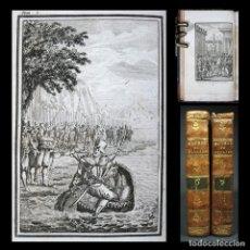 Libros antiguos: AÑO 1795 EL GRAN CAPITÁN O GRANADA RECONQUISTADA Y COMPENDIO LITERATURA GRABADOS 3 TOMOS EN 2 VOLS.. Lote 164676157