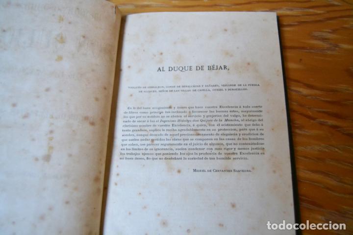 Libros antiguos: EL INGENIOSO HIDALGO DON QUIJOTE DE LA MANCHA - CERVANTES - AÑO 1881 - PRIMERA EDICION ECONOMICA. - Foto 5 - 135938094