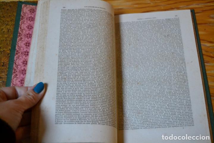 Libros antiguos: EL INGENIOSO HIDALGO DON QUIJOTE DE LA MANCHA - CERVANTES - AÑO 1881 - PRIMERA EDICION ECONOMICA. - Foto 10 - 135938094