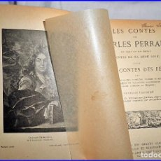 Libros antiguos: LOS CUENTOS DE PERRAULT. ELEGANTE LIBRO ANTIGUO ILUSTRADO.. Lote 135952458