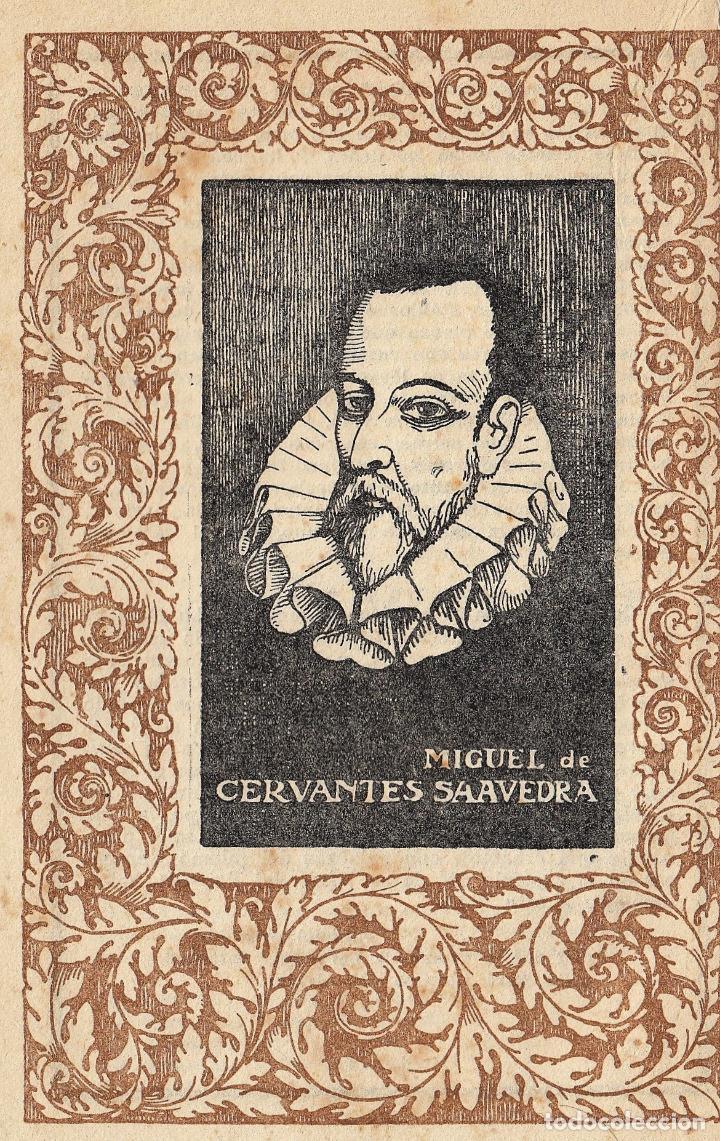 Libros antiguos: MIGUEL DE CERVANTES LA GALATEA MAUCCI 1916 1ª EDICIÓN (?) DIBUJOS ALSINA MUNNÉ LUIS CARLOS VIADA - Foto 7 - 136059102